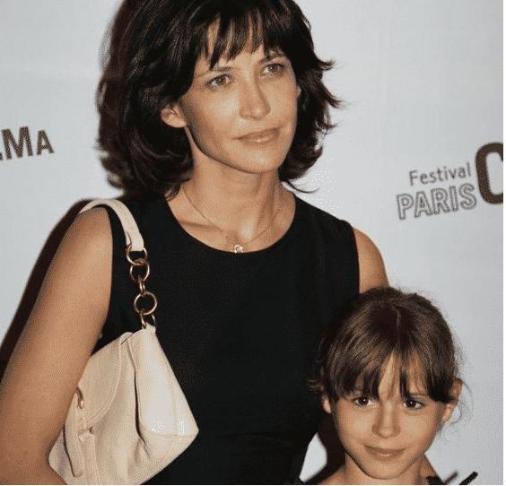 Juliette Lemley et sa mère Sophie Marceau