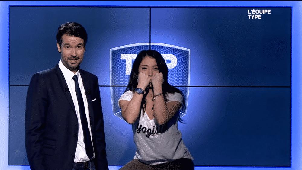 Sonia Carneiro à la télévision
